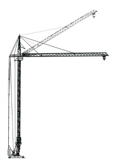 Башенный кран КБ-408.21А